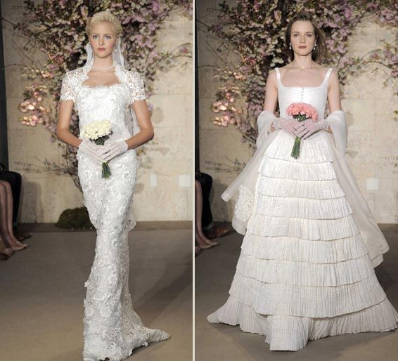 2012 Wedding Dress Trends – A Touch of 80s