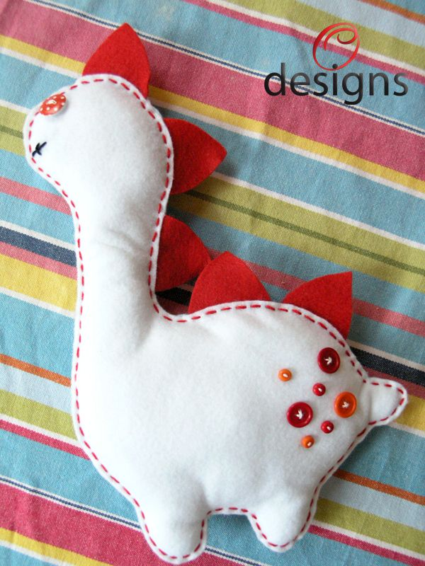 Softies for kids.... with cotton stuffing.