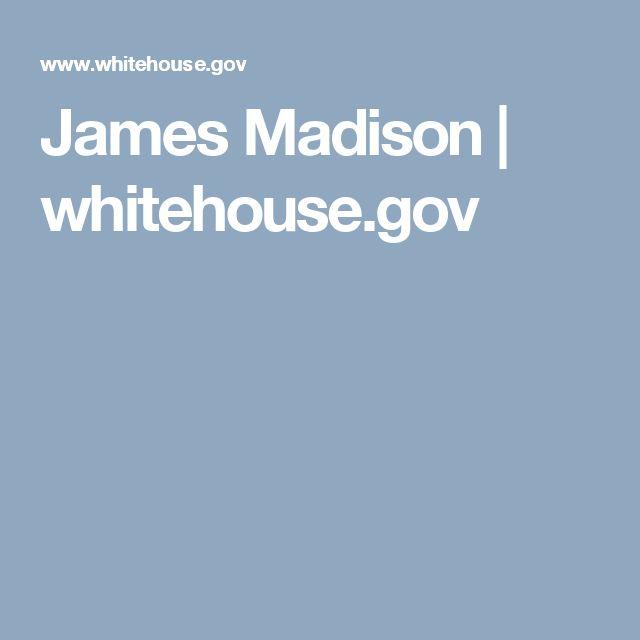 James Madison   whitehouse.gov