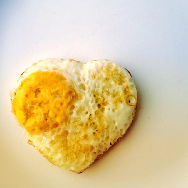 ❤ para el desayuno!