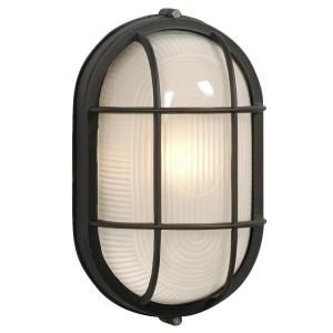 Filament Design, Negron 1-Light Outdoor Black Wall Light, CLI-XY775379300470 at The Home Depot - Mobile