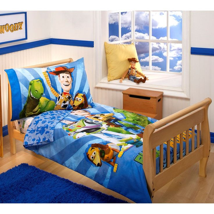 toy story 4pc toddler bedding - Toy Story Toddler Sheets