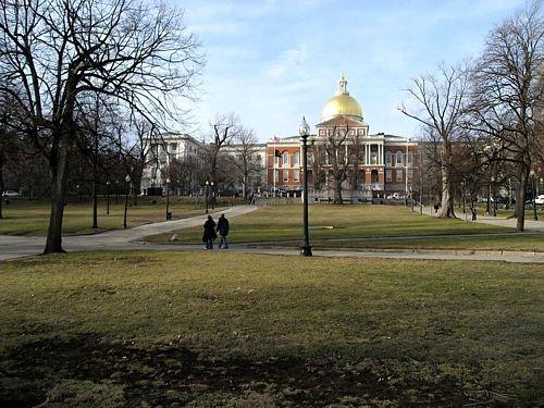 Boston Common Massachusetts State House
