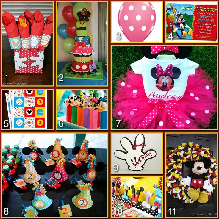 82 best Mickey Mouse clubhouse birthday party images on Pinterest