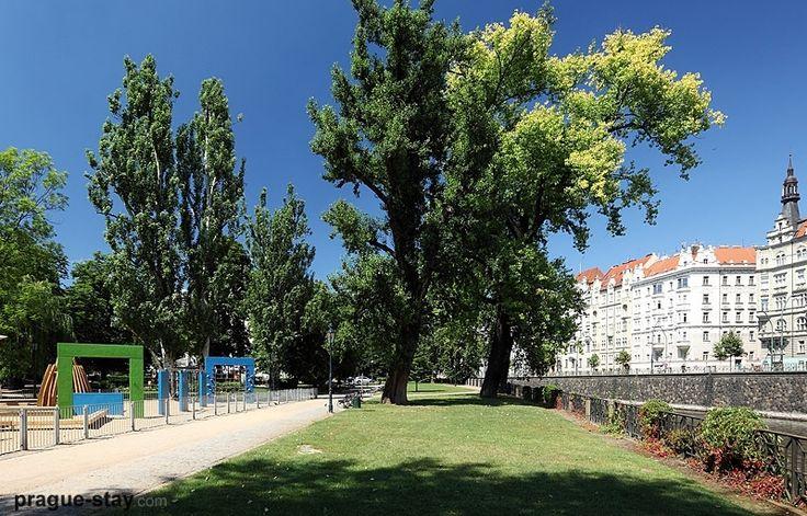 Slavonic Island I Prague
