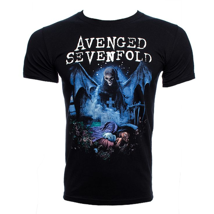 Avenged Sevenfold Recurring Nightmare T Shirt (Black) $23.19 [out of med]