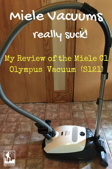 An Incredible Vacuum! My Miele Vacuum review