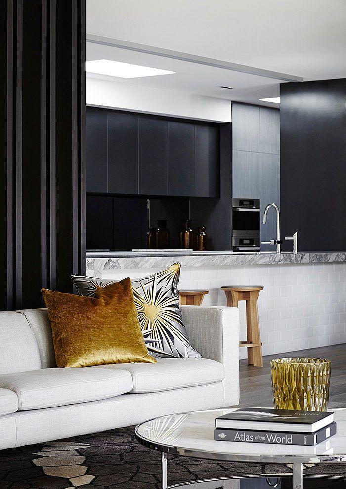 Templestowe House By Christopher Elliott Design Kitchen LivingLiving Room