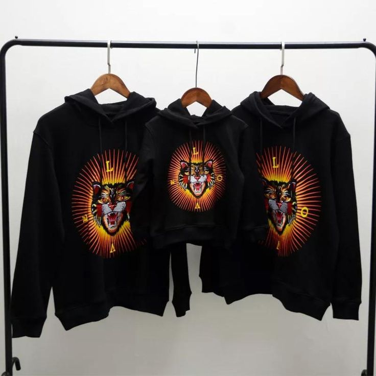 Love tiger hoodie (mommy daddy and me collection)