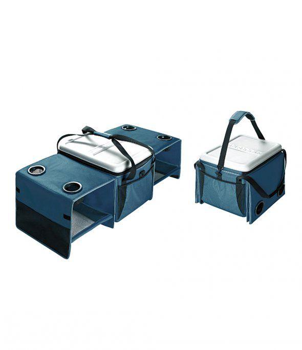 [OFFROAD]더블 테이블 쿨러백 40 (PBGB101)는 정통 아메리칸 클래식 스타일의 디자인을 선보이는 오프로드(OFFROAD)社에서 출시한 멀티 쿨러 백입니다. 인체에 무해한 무독성 PVC 소재를 사용하였으며, 4인 이상이 사용할 수 있는 테이블로 변형할 수 있는 제품입니다.