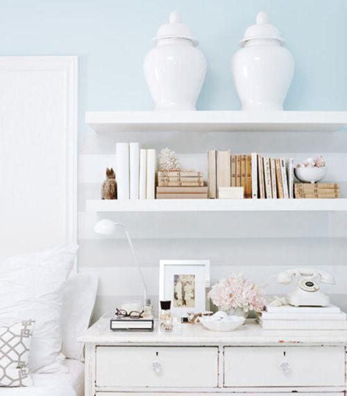 slaapkamer wandplank