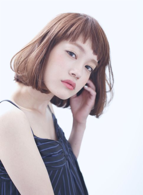 ショートバング×シンプルボブ 【Cura】 http://beautynavi.woman.excite.co.jp/salon/21053?pint ≪…