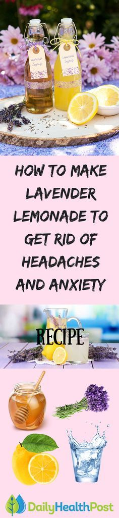 Got a headache that just won't go away? Many people find that traditional over-the-counter pain relief medication is ineffective in dealing with persistent headaches, which can be caused by stress, tension, dehydration, or any number of external or internal factors.Now you can harness the effects of this herbal remedy with this simple, easy-to-make recipe for lavender-infused lemonade – a sweet drink that can also help cure even the most persistent of headaches.