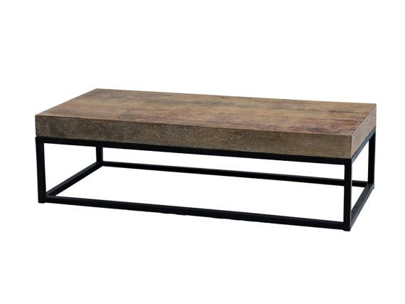 Recycled Wood And Iron Base Coffee Table From Terra By TerraNovaLA