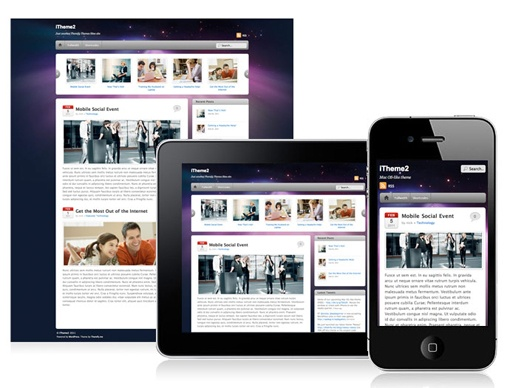 #responsive #wordpress #theme iTheme2 (WordPress)