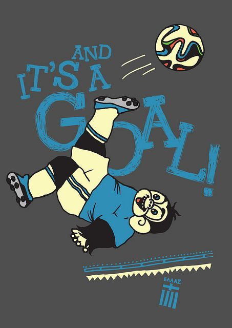 And it's a bicycle kick from Ziko... #worldcup #brazil #ziko