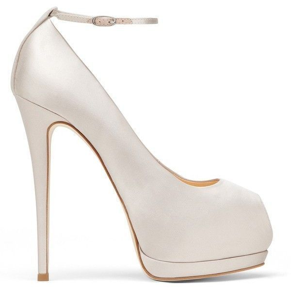 Giuseppe Zanotti Sharon ($665) ❤ liked on Polyvore featuring shoes, pumps, heels, white, white shoes, white platform shoes, high heel platform shoes, high heel pumps and high heeled footwear #giuseppezanottiheelswhite
