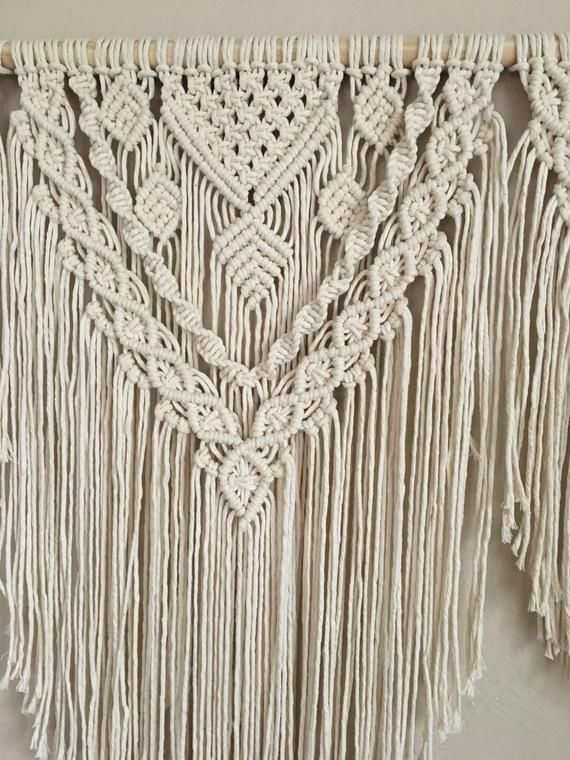 Large Macrame Wall Hanging Modern Macrame Wall Tapestry For Etsy Macrame Wall Hanging Macrame Wall Art Large Macrame Wall Hanging