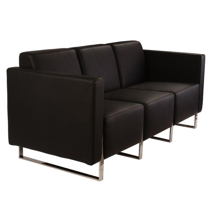 Smirch 3 Seater Sofa - Matt Blatt
