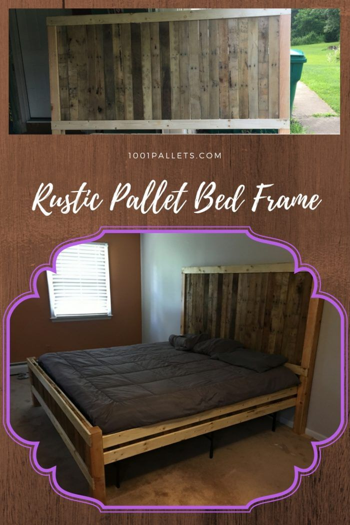 670 Best Pallet Beds Amp Headboards Images On Pinterest