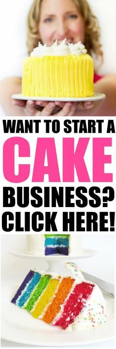 Want to Start a Cake Business  Start Here!