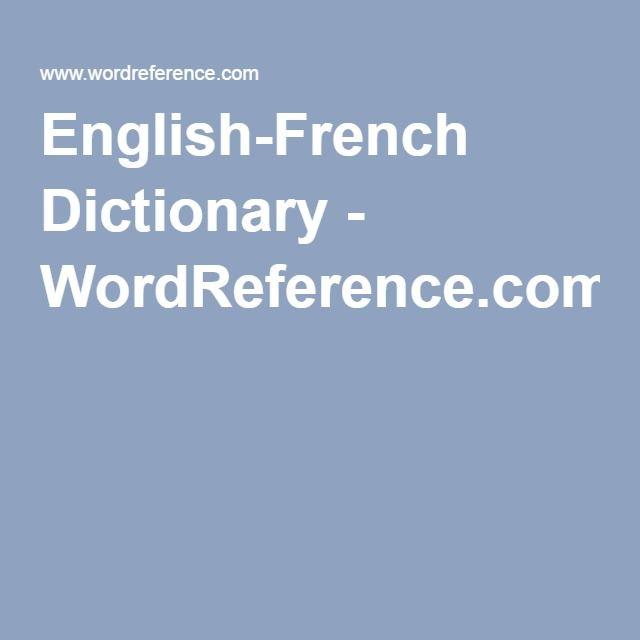 Bonnet En Anglais Wordreference