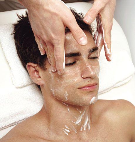 Männliche Hautpflegetipps