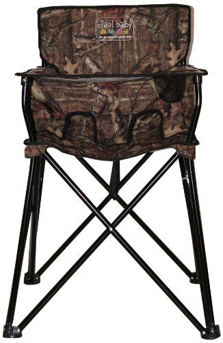 Camo Baby Stuff | Camo baby portable high chair - fantastic idea!