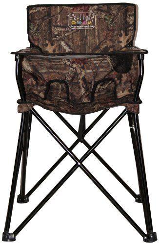 Camo Baby Stuff | Camo baby portable high chair - fantastic idea!