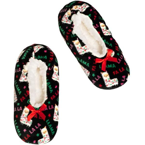 Stretchy Holiday Slipper Socks