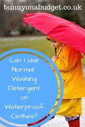 Do you really need to buy a special washing detergent to wash your waterproof clothes in, or, can you get away with just using your normal clothing washing detergent instead? Well, I did a little bit of research on the subject and here's what I found out.