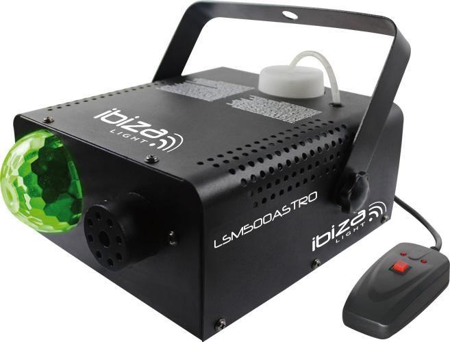 Location machine a fumée 500w Saint-Geniès-Bellevue (31180) #sono #dj #mariage #ibiza. Machine à fumée d'une puissance de 500W doté d'un jeu de lumière type disco ball intégré. Une solution parfaite pour animer vos soirées et rendre un effet original.
