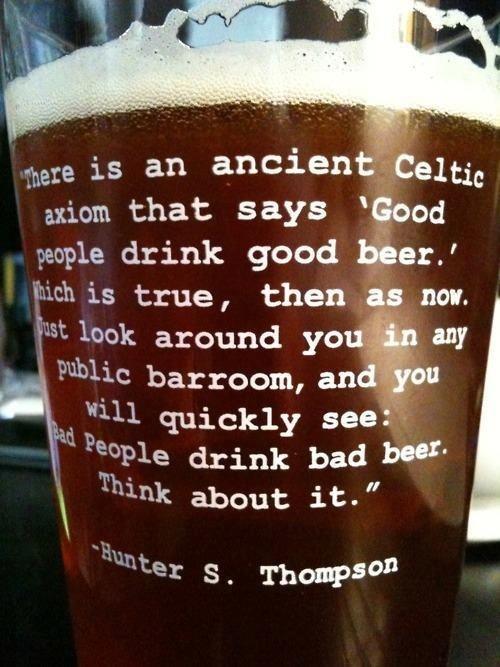 Good people, good beer