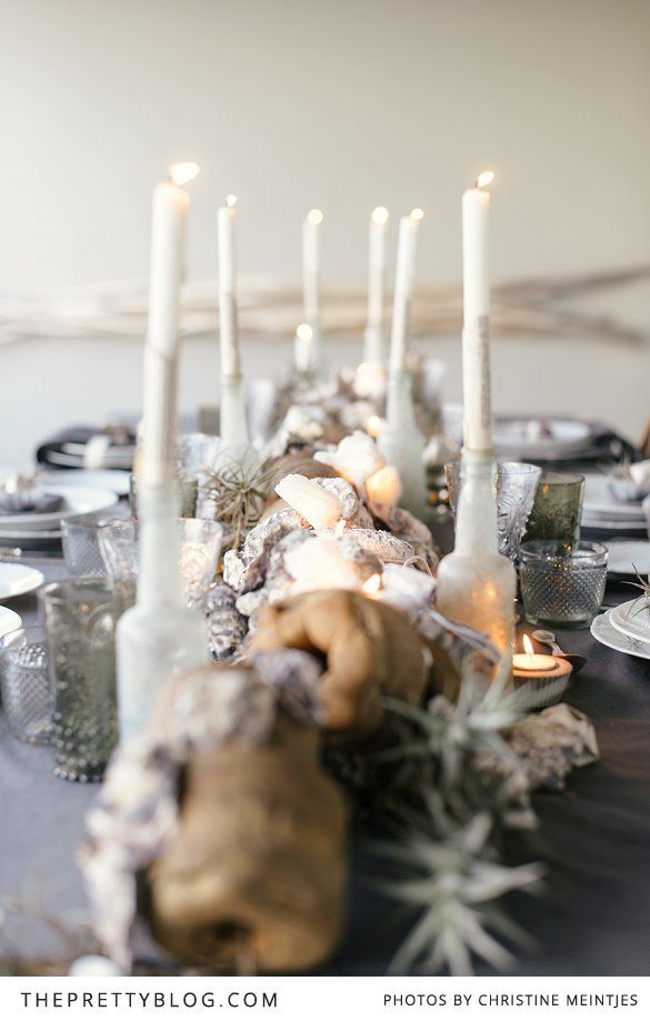Set a long table for loved ones this festive season | Beach theme | Photography by Christine Meintjies