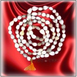 VedicVaani.com | Shop vaijayanti mala online from the best online store from India to worldwide at fair rates. It is used by the devotees of Lord Vishnu and for chanting mantras of Mahalaxmi. Vaijyanti mala made of white beads is used for vashikaran, attraction and Devi Siddhi.