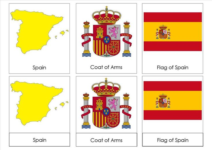 Spain - 1 of 9 images for studying Spain (perfect for continent box) #Montessori