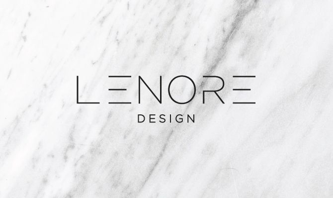 Brand Launch: Lenore Interior Design - Salted Ink Design Co. | logo, brand, branding, brand stylist