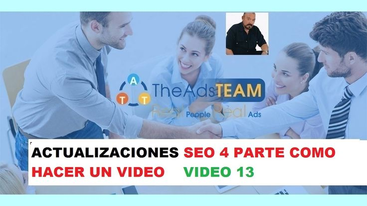 TheAdsTEAM ESpañol 13 ACTUALIZACIONES SEO JORGE IVAN FRANCO TheAdsTEAM