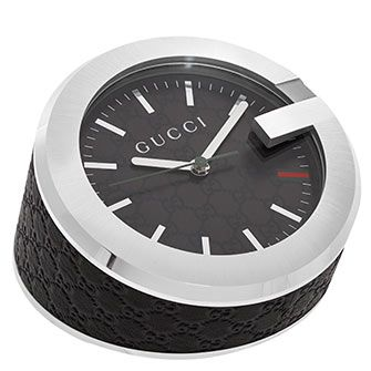 Black Analogue Standing Alarm Clock