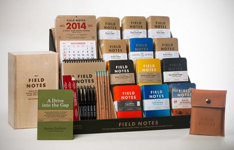 Field Notes notebooks! LOVE it!