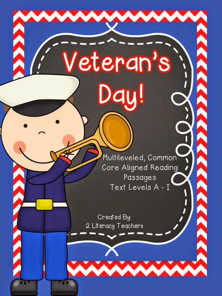 Classroom Ideas For Veterans Day : Hot off the presses veteran s day passage set by