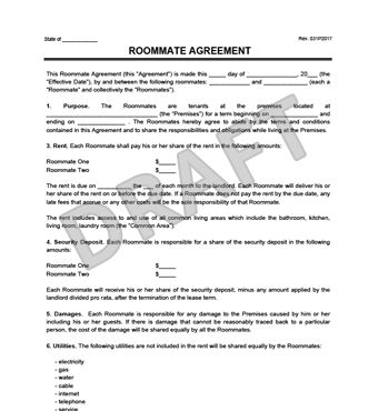 Best  Roommate Agreement Ideas On   College Roommate