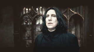 Someone Put Snape's Scenes In Chronological Order And It Will Make You Feel Things