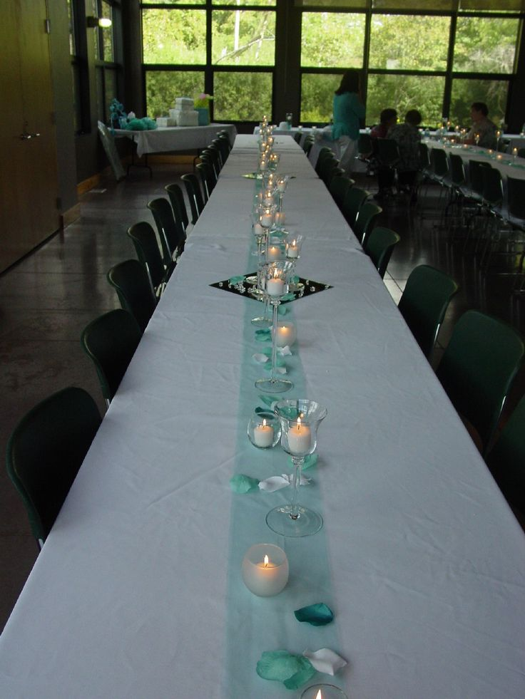 181 best table decorations images on pinterest music theme tulle table runner junglespirit Image collections