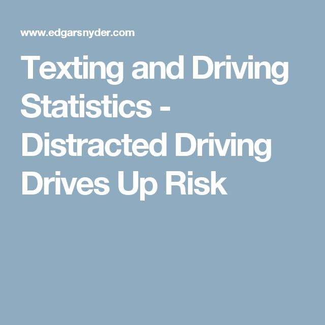 texting while driving is a serious distraction No texting while driving  bottom line: using a hand held device while driving is a serious traffic violation that could result in a driver disqualification.