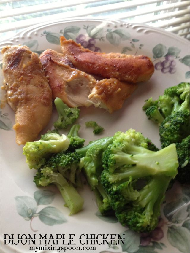 Maple Dijon Grilled Chicken Recipe — Dishmaps