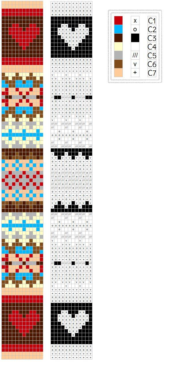 Knitting Chart Generator: Gravemaskin strikking pinterest. Cro knit ...