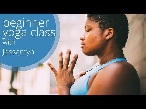 Free Beginner-Intermediate Yoga Class with Jessamyn Stanley, Everybody Yoga - YouTube