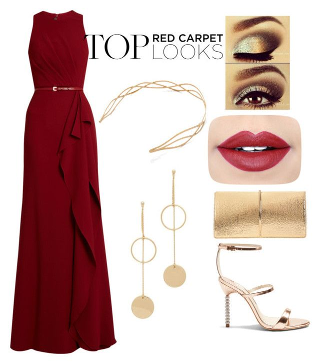 """""""#2"""" by kixkeen on Polyvore featuring Elie Saab, Sophia Webster, Cloverpost, Mrs. President & Co., Nina Ricci, Urban Decay and Fiebiger"""