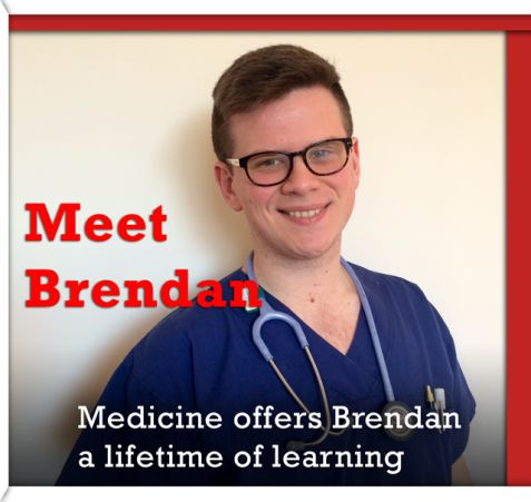 "Meet Brendan.Medicine offers Brendan a lifetime of learning. ""It's important to have colour and diversity in your interests."" #G30 http://griffithcareers.com/2014/08/25/medicine-offers-brendan-a-lifetime-of-learning-brendan-goodwin/"